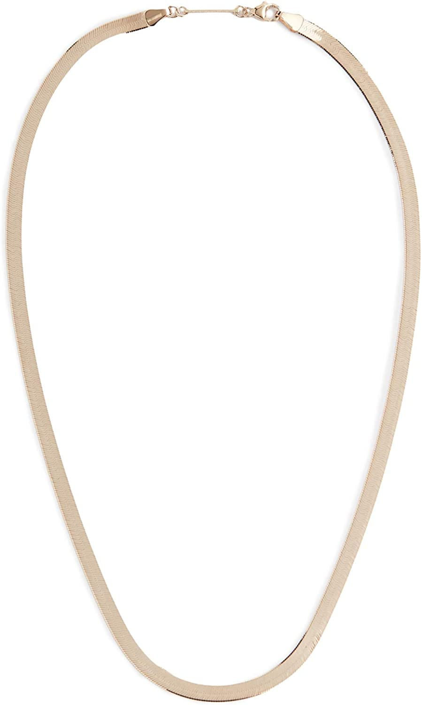 Zoe Chicco Women's 14k Gold Herringbone Chain Necklace