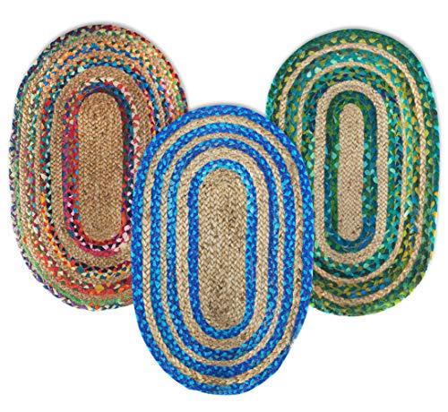 SIGNES DECORA Teppich Mandala Mehrfarbig 50x 80