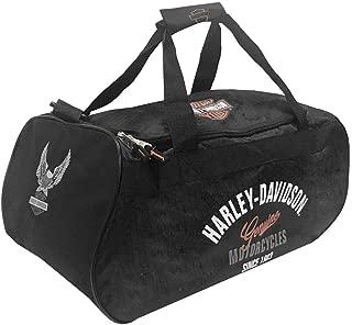Harley Davidson Logo Sport Duffel (Tail of The Dragon) Bag, Black, One Size