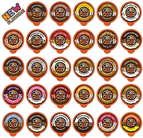 Crazy Cups Flavored Coffee Pods Variety Pack Medium Roast Flavored Coffee Variety Pack Single product image