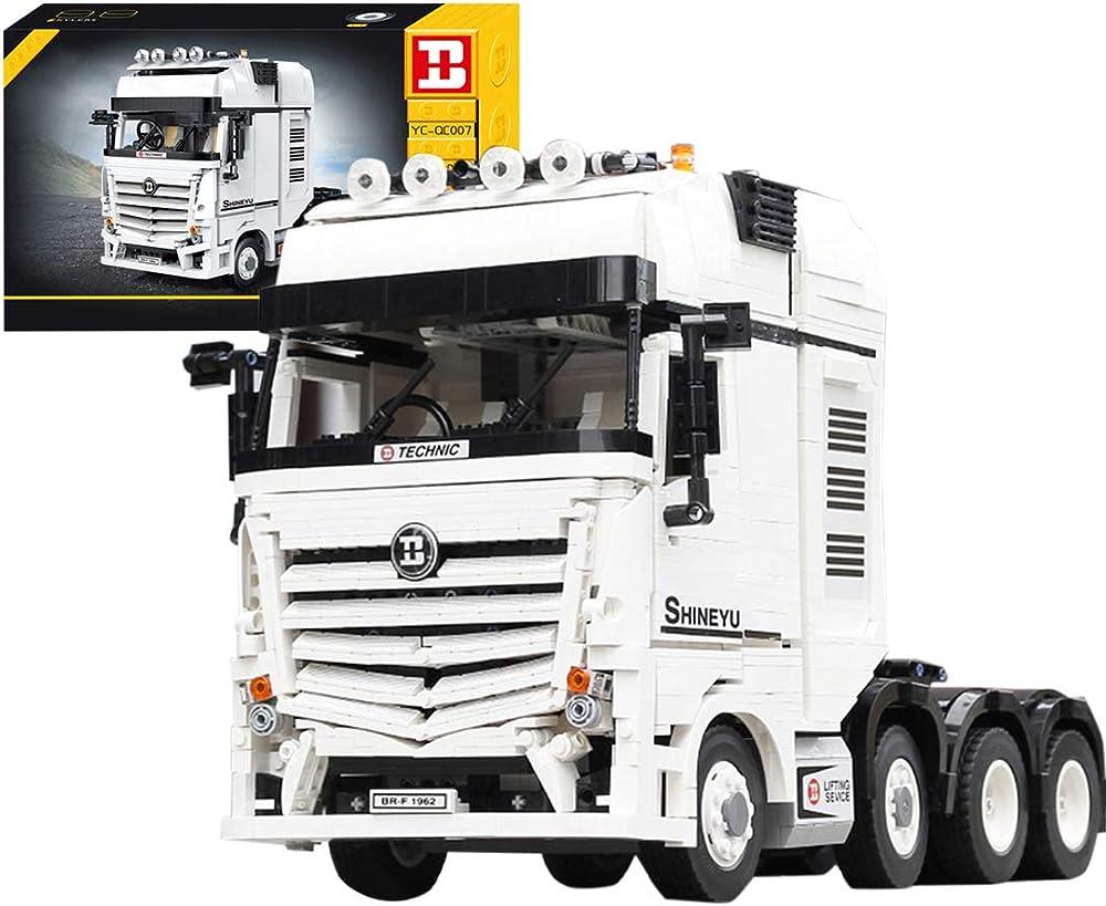 Dsxx technic camion di trasporto,2949 pezzi set di costruzioni compatibili con lego technic 221I7LZBFR14551MQ5AS