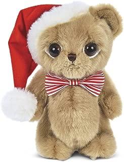 Bearington Big Head Nick Christmas Plush Stuffed Animal Teddy Bear, 8 inches