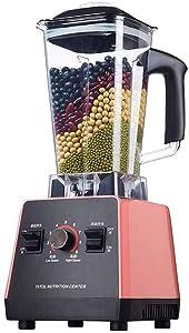 DLINMEI Heatable Household Blender, Multi-Function Juicer, SOYA-Bean Milk Machine, Broken wall Machine, Can Be Used to Ground Meat, Ground Soy Milk,110-240V