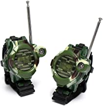 TelDen Outdoor Toys for Kids, 22 Channel 2 Way Radio 3 Miles Handheld Mini Walkie Talkies, Toys for 3-8 Year Old Boys and Girls