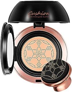 Air Cushion Cream BB Mushroom Head Foundation Liquid Foundation Concealer Nude 20ml Makeup Lasting Moisturizing For Shrinking Pores, Moisturizing, Concealing Spot, Brighten Skin Tone - Natural/ Lovry