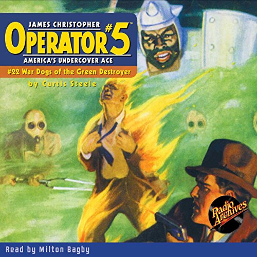 Operator #5 #22, January 1936 audiobook cover art