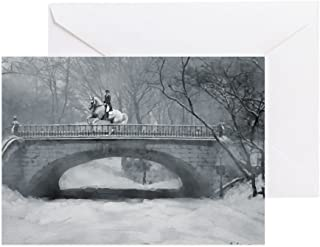CafePress Dressage Winter Pirouette Greeting Cards (20) Greeting Card (20-pack), Note Card with Blank Inside, Birthday Card Glossy