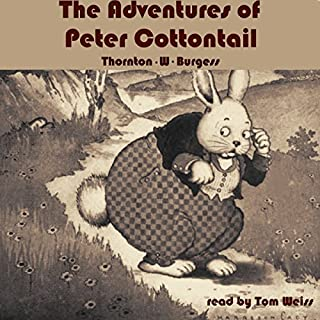 The Adventures of Peter Cottontail audiobook cover art