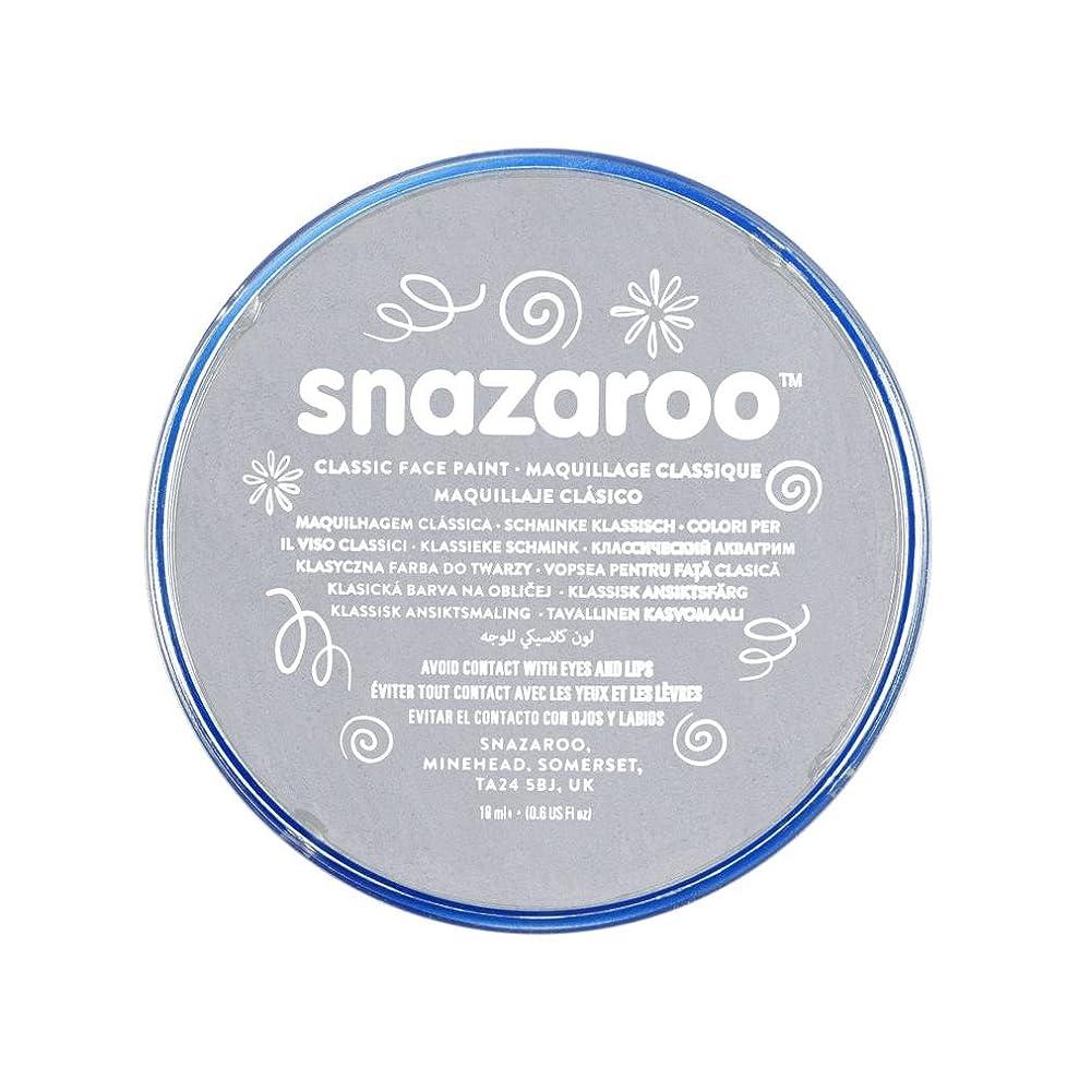 Snazaroo 1118122 Classic Face Paint, 18ml, Light Grey xytxmbnjq6946