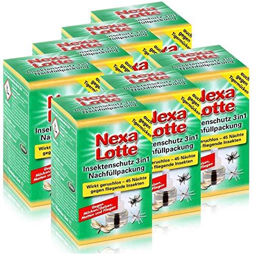 Nexa Lotte Insektenschutz 3in1 Nachfüllpackung - wirkt geruchlos (7er Pack)