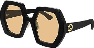 Gucci GG0772S BLACK/YELLOW 55/26/145 women Sunglasses