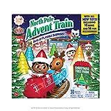 Elf on the Shelf North Pole Avvento Train   Miglior calendario dell'Avvento per il divertimento della famiglia 2021   Giocattolo adatto per ragazzi e ragazze   Elfo sullo scaffale Accessori