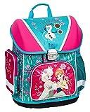 Disney Eiskönigin Frozen Schulranzen Anna ELSA Olaf | für Mädchen 1 Klasse | Schulrucksack | Set 2 teilig | für Grundschule | inkl. Sticker von Maximustrade