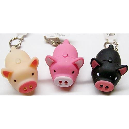 Oink Piggy Light   Sound Keychains - 3 Pack 3689647850d8
