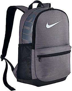 Nike Brasilia Backpack for Men (Black (Grey/Black/White) NKBA5329-064)