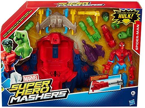 Avengers - A8497Eu40 - Figurine - Animation - Hero Mashers Véhicule Deluxe