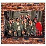 Vspgyf MASH Movie 1970 Rare MASH TV Poster Wandkunst