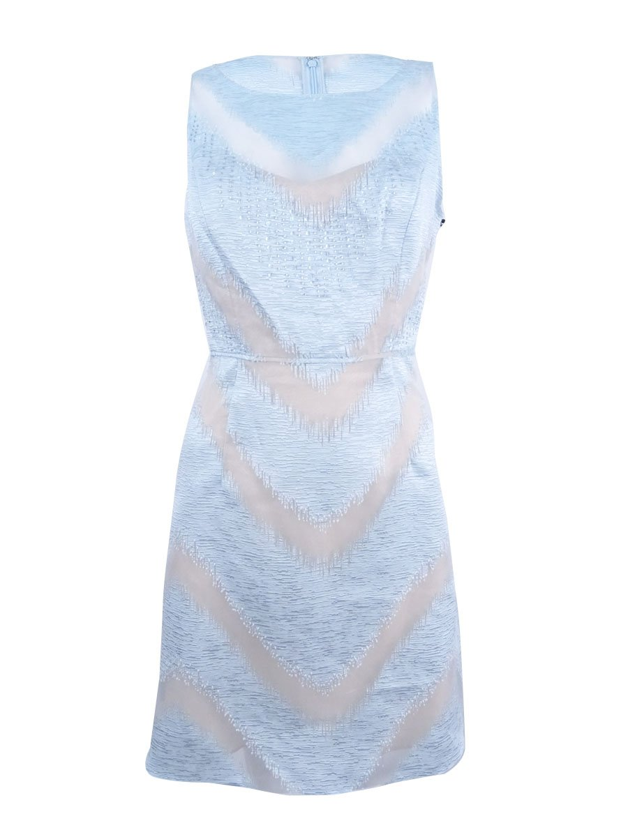 Available at Amazon: Adrianna Papell Women's Organza Halter A-Line Dress