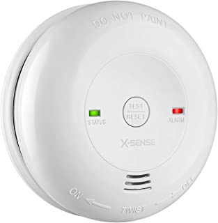 X-Sense Carbon Monoxide Alarm CM01, Battery Powered CO Detector with Test/Reset Button, Precise Electrochemical Sensor, UL Listed & Batteries Included