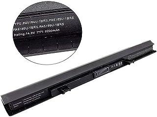 Batería de Repuesto PA5185U-1BRS PA5184U-1BRS PA5186U-1BRS para TOSHIBA Satellite C50 C50-B C55 Serie/ C55D-C C70D-C L50D-C Portátil Bateria [14.8V 2200mAh]