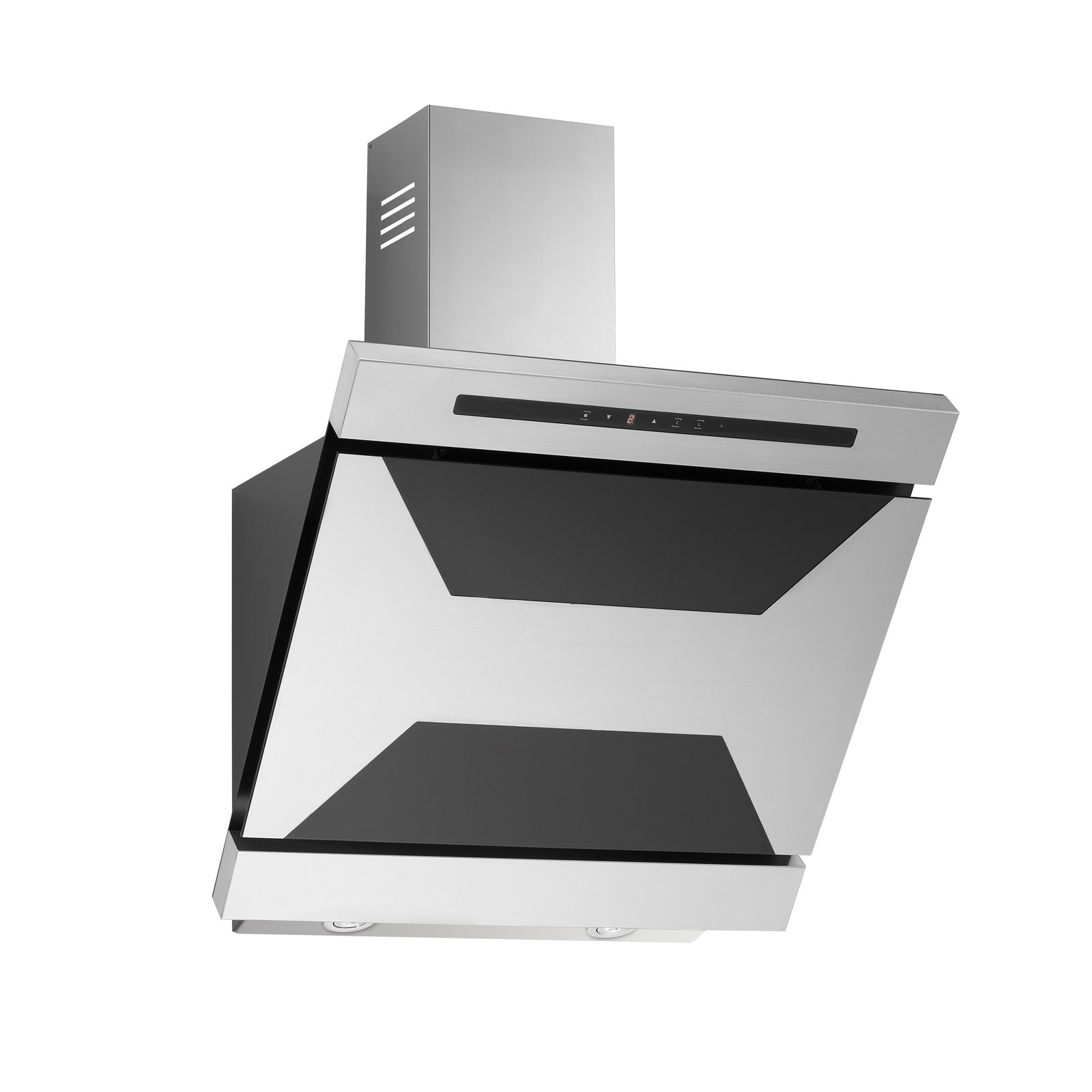 Campana extractora Viola de acero inoxidable y cristal, 60 cm, color negro: Amazon.es: Grandes electrodomésticos