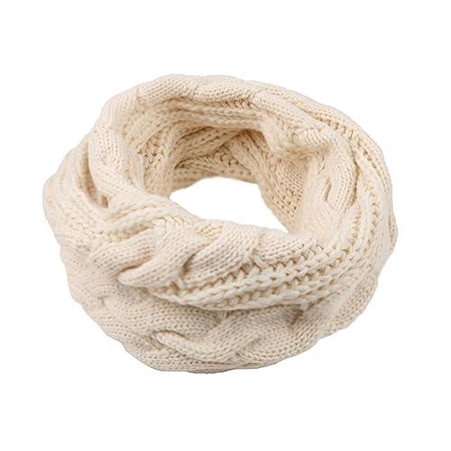 Femme écharpe Tube Echarpes tricotées foulard Cercle Tubulaire Écharpe en  Grosse Maille Chaude Automne-Hiver cc447fe79cf