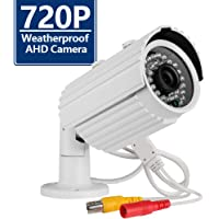4 Pack CANAVIS AHD 720P CCTV Camera with IR Cut Home Security