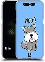 Head Case Designs Schnauzer Happy Puppies Soft Gel Case Compatible for Xiaomi Black Shark