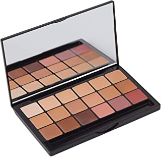 Graftobian HD Glamour Crème Foundation Palette, Warm #3 - High Definition 5 Color Palette - Medium/Dark Warm Shades