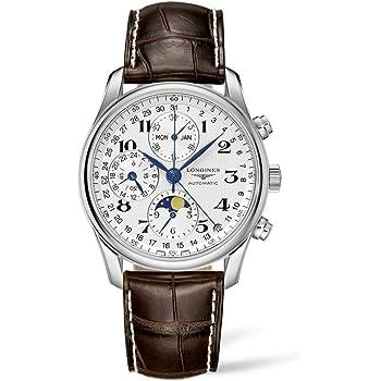 [ロンジン] 腕時計 ロンジン マスターコレクション 自動巻き L2.673.4.78.3 メンズ 正規輸入品 ブラウン