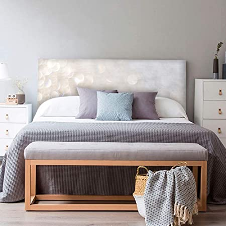 setecientosgramos Cabecero Cama PVC | SoffLigth | Varias Medidas | Fácil colocación | Decoración Dormitorio (115x60cm)