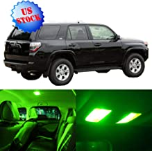 SCITOO Interior LED Lights Green Replacement for 1997-2002 Toyota 4Runner Accessories Package Kit 12Pcs