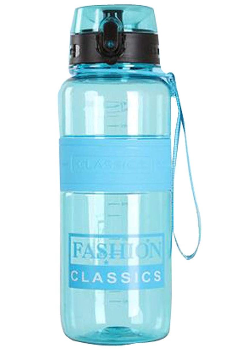 [ジンニュウ] ウォーターボトル 水筒 プラスチック 大容量 1500ミリリットル 透明 漏れ防止 男女兼用 アウトドアスポーツ フィットネスジム