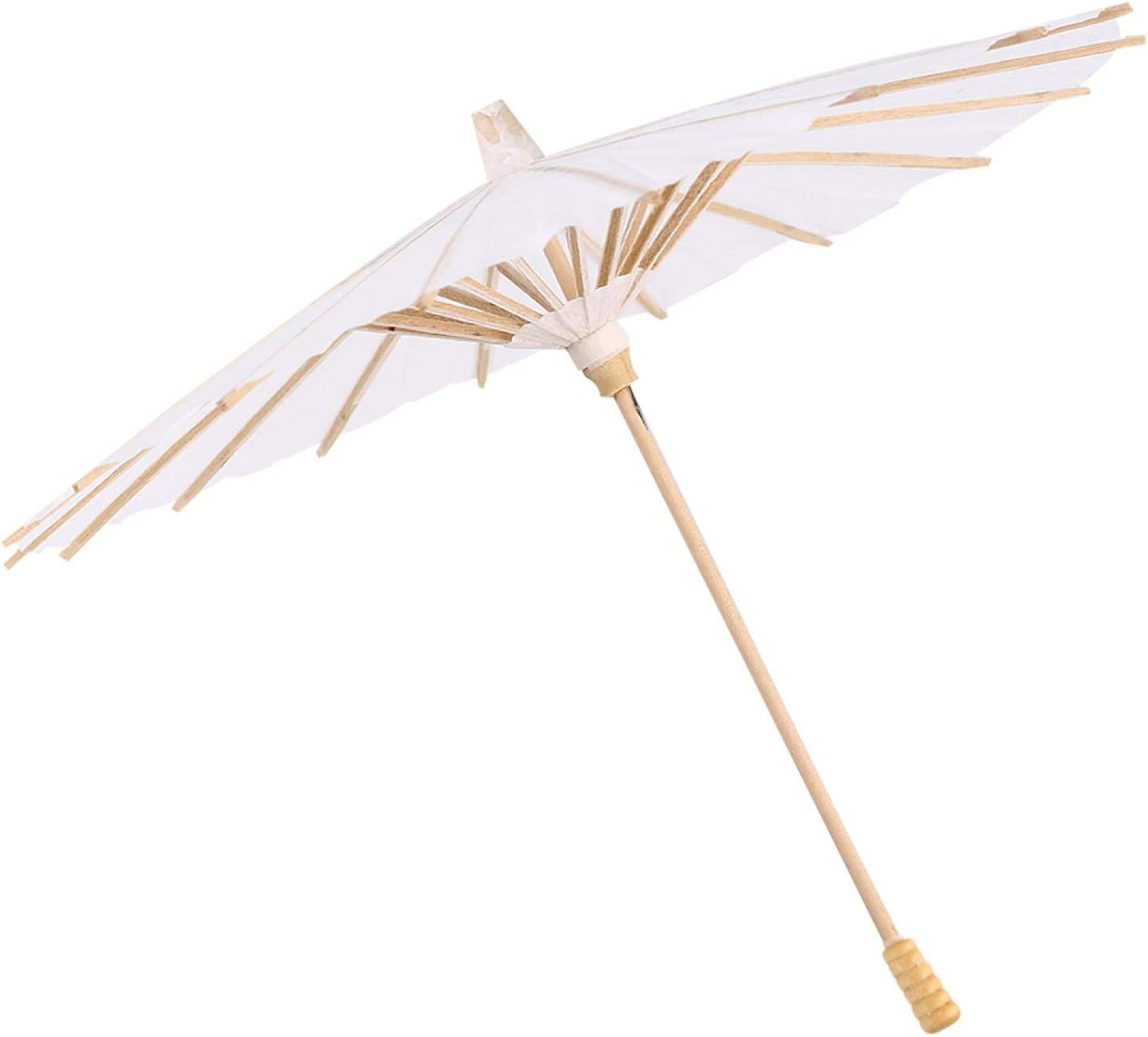 Chinese Max 41% OFF Decorative Umbrella Painting DIY Fixed price for sale White