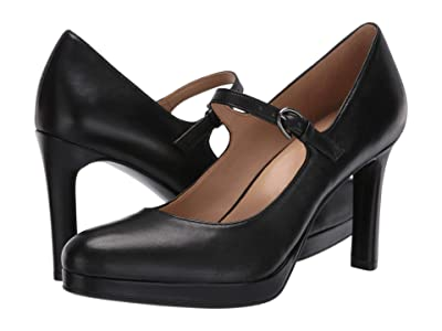 Naturalizer Talissa (Black Leather) Women