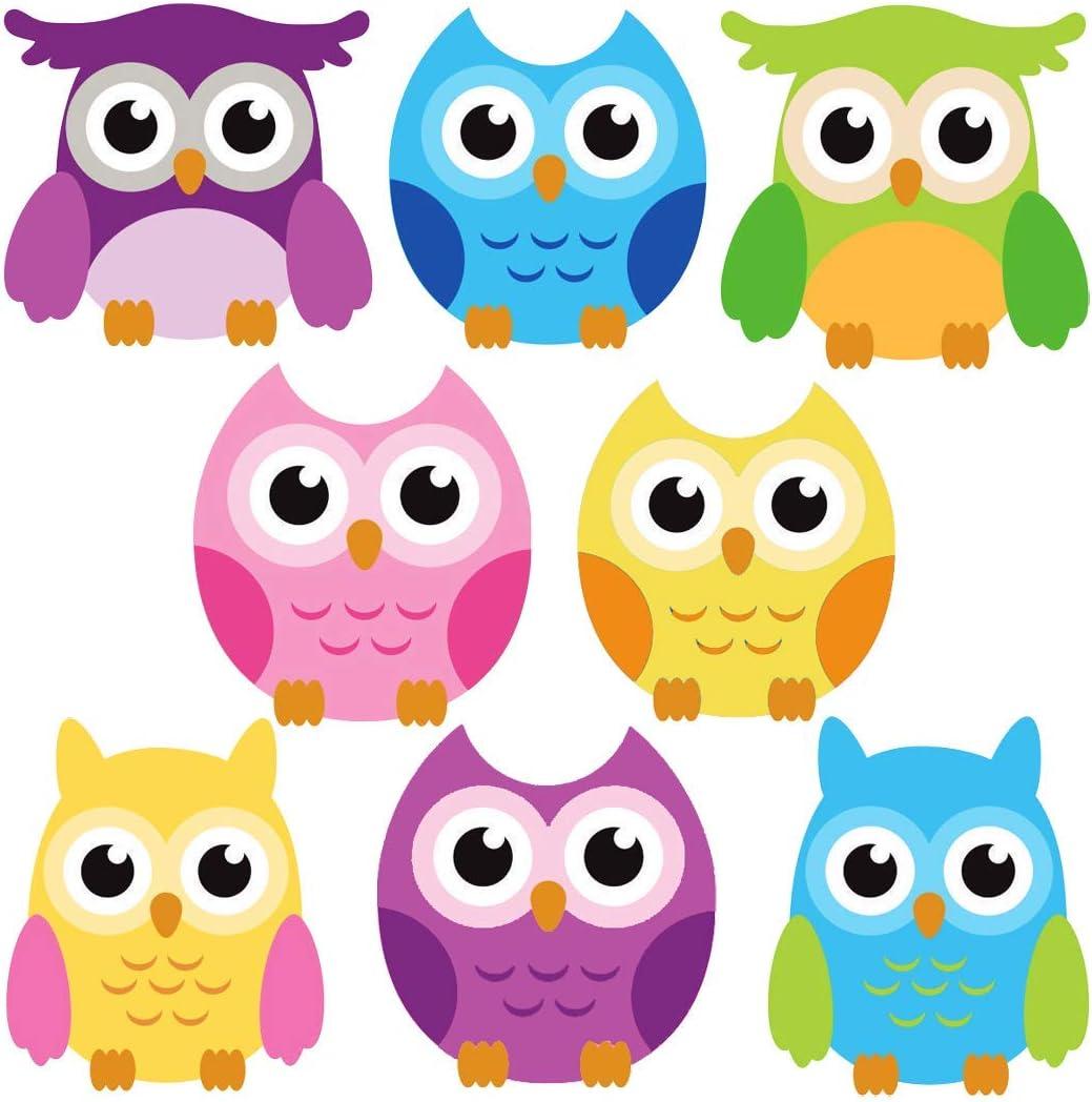 Nursery Wall Decal nursery owl decor Owl Nursery Art Blowing Tree owl wall decal Owl tree decal Smaller Teal /& Grey Design