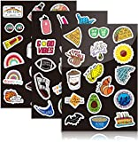 Assorted Indie <span class='highlight'>Sticker</span>s for Laptop, Funny Decals Large Pack of 50 Waterproof Tumbler <span class='highlight'>Sticker</span>s
