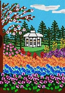 pepita Garden Gate (Large) Needlepoint Canvas