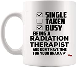 Being New Radiation Therapist Mug Coffee Cup Tea Mugs Gift Therapists Graduate Student Mugs - Therapy Graduation Cancer Patients Doctor Graduation Gift Back To School