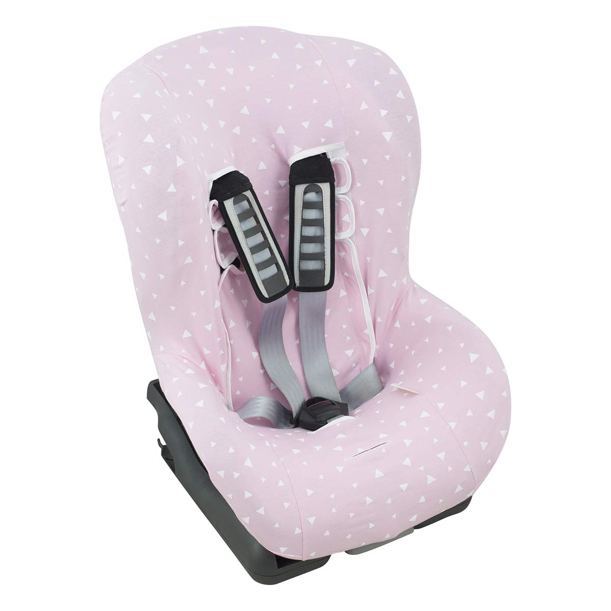 Pink Sparkles Janabeb Cover Liner for car seat Graco Milestone ...