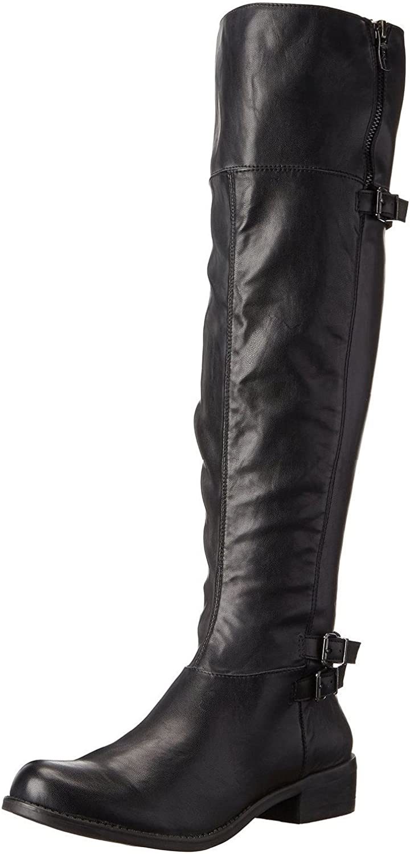 BCBGeneration Women's Krush Harness Boot, Black