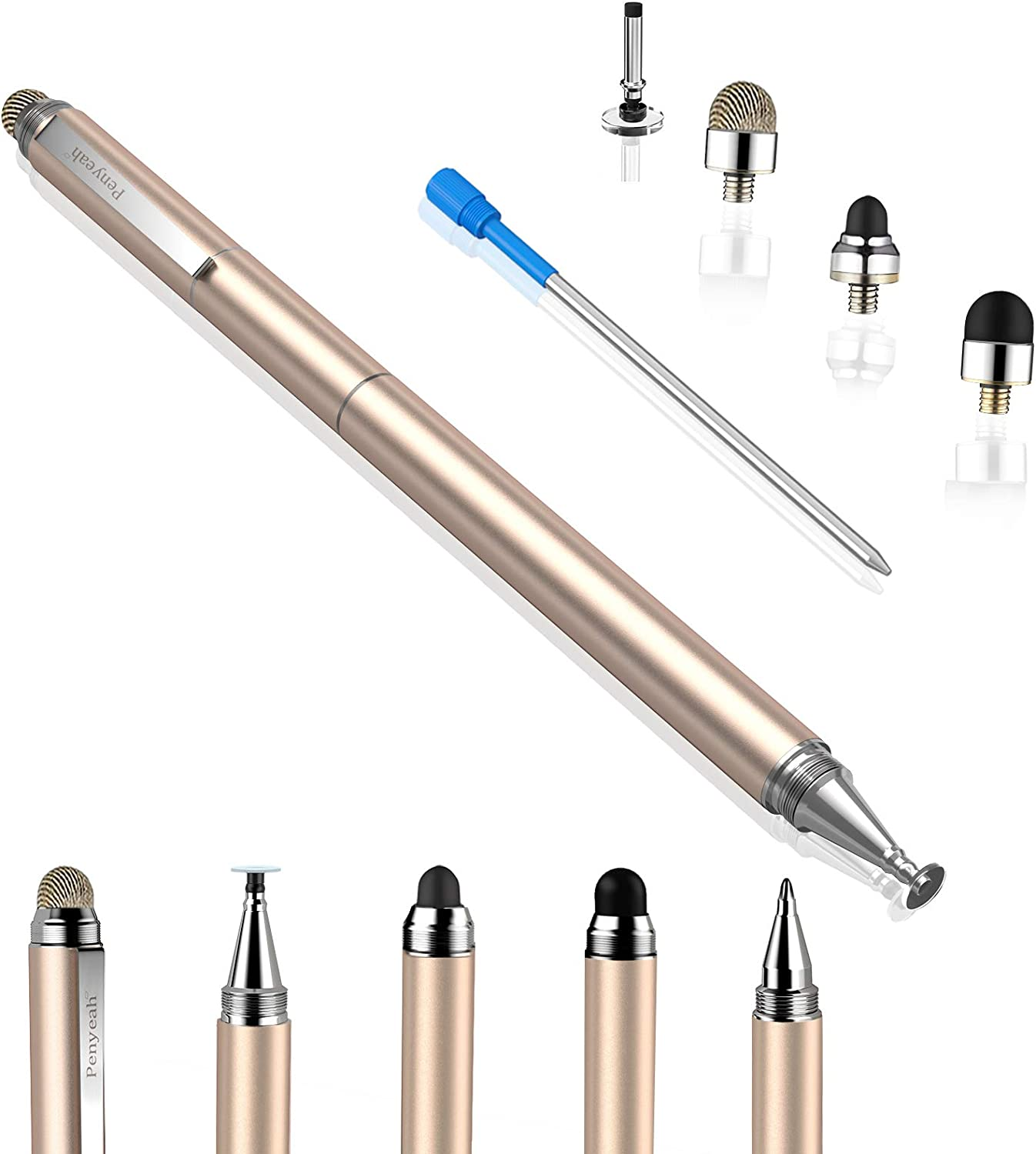 Penyeah Stylus pens Portland Mall for Boston Mall Touch Screens Sensitivit 4-in-1 High -