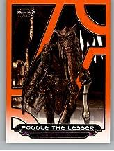 2017 Topps Star Wars Galactic Files Reborn Orange #AOTC-19 Poggle the Lesser