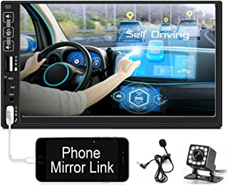 $56 » Sponsored Ad - Hikity 7 Inch Digital Car Stereo Touchscreen Car Audio Receiver Bluetooth FM Radio Mirror Link Remote Contr...