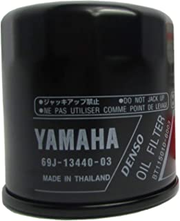 Yamaha 69J-13440-00-00 Filter Element Assembly, Oil Cleaner; New # 69J-13440-03-00 Made by Yamaha