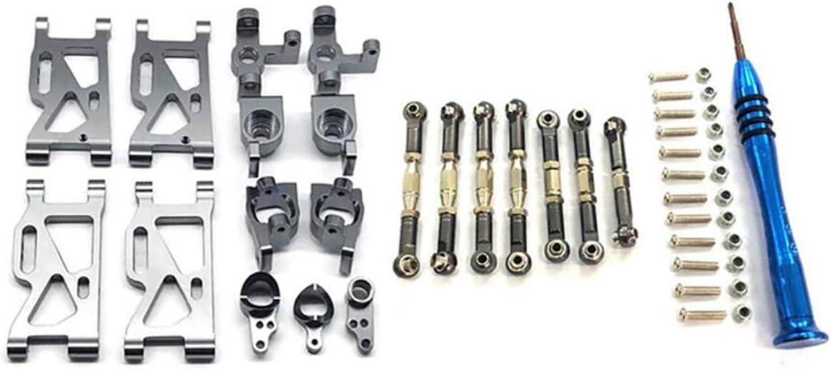 HIUHIU RC car Upgrade Parts Metal Steering Rea Max 70% OFF Base Rocker outlet arm C