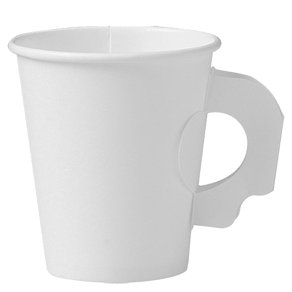 Solo 376HW-2050 6 oz White SSP Paper Hot Cup (Case of 1000)