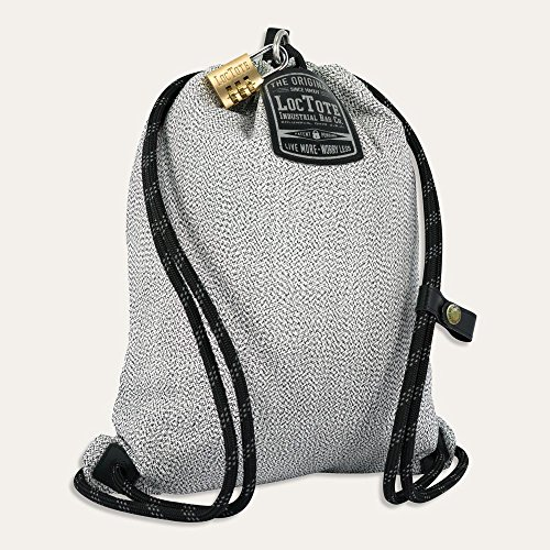 Loctote Flak Sack Sport II – Le sac de protection anti-vol résistant aux coupures avec cadenas