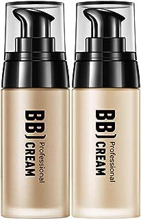 Bluelucon 2PC Mens BB Cream Concealer Face Light Tinted