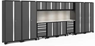 NewAge Products Bold 3.0 Gray 14 Piece Set, Garage Cabinets, 56137
